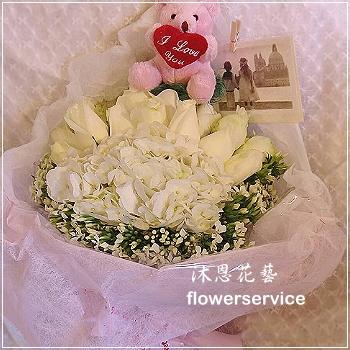 K076情人節花束生日特殊節日花束