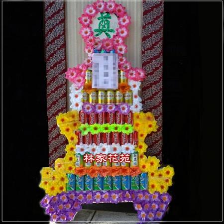 H0047層罐頭塔弔唁罐頭塔