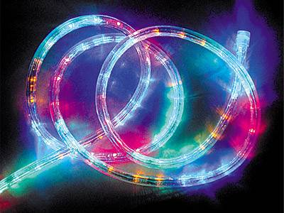 LED圓三線彩虹管