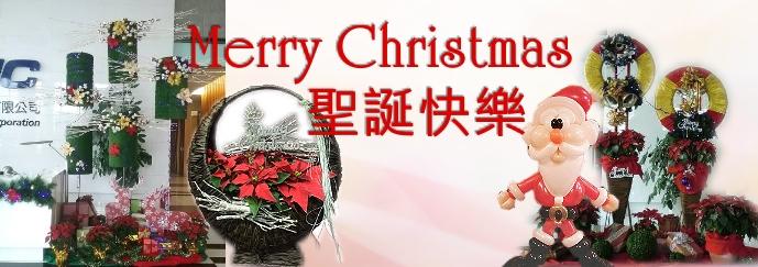 聖誕快樂花禮