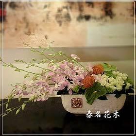 E007精緻盆花開幕喬遷會場佈置室內景觀佈置花禮台中花店