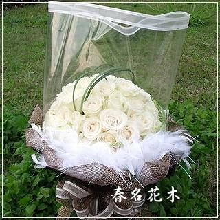 A027百合花束傳情花束情人節花束生日台中花店