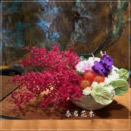 E034精緻盆花開幕喬遷會場佈置室內景觀佈置花禮