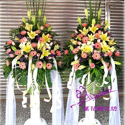 BL008羅馬花柱一對台南市花店