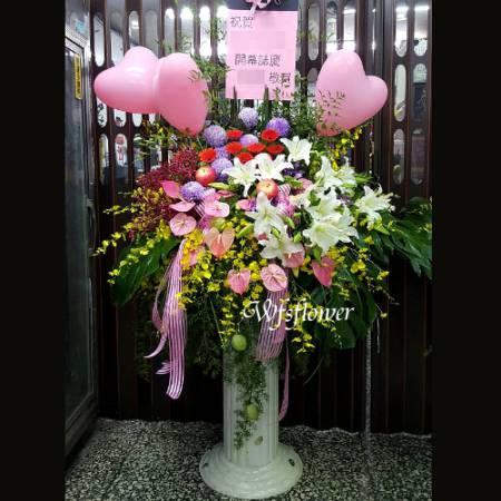 BL007羅馬花柱一對台南市花店