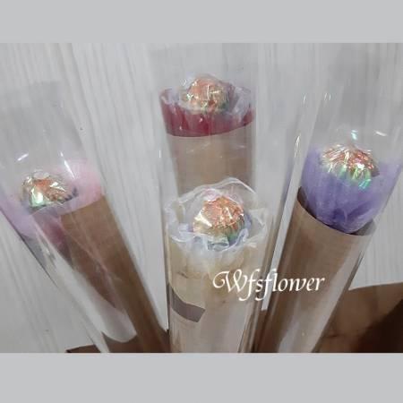 K006單朵金莎花束婚禮小物畢業贈品團體贈品 台南市花店