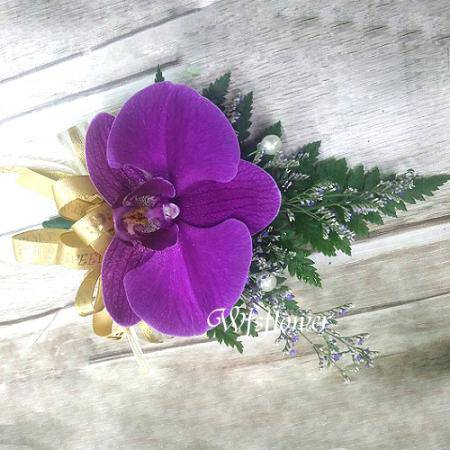 w-11精緻蝴蝶蘭胸花台南市花店