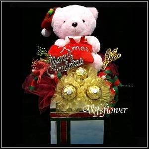 Q003聖誕節精選禮盒台南市花店代客送花