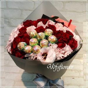 F117金莎玫瑰花束情人花束生日花束台南代客送花