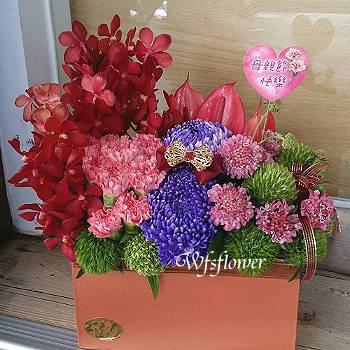 D082愛媽咪母親節花束生日花束台南市花店