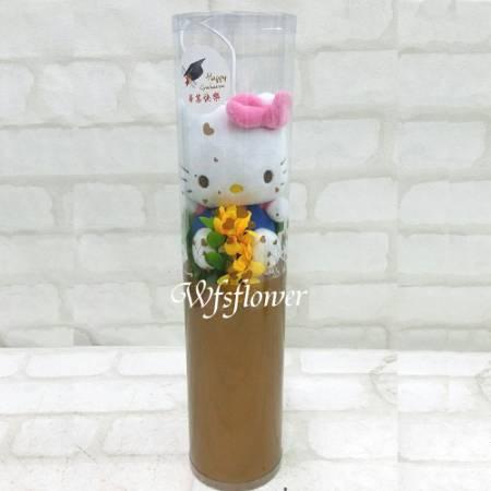 K020HelloKitty單支花束台南市花店