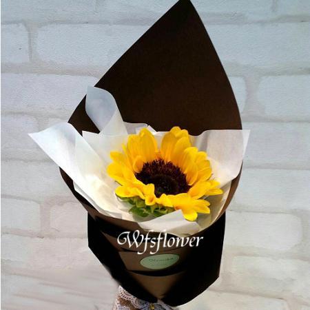 K021向日癸鮮花畢業花束畢業團體贈品