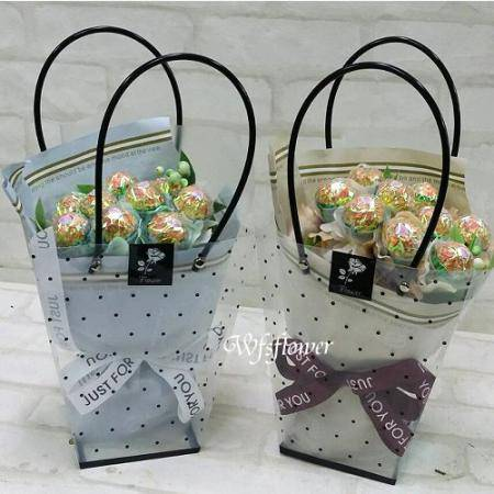 C053金莎花束金莎的祝福情人節花束台南市花店
