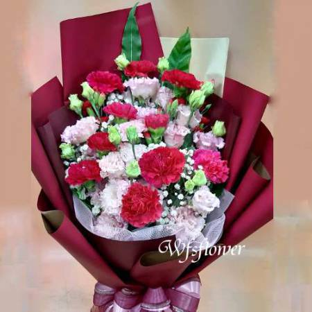 F110溫馨親情傳情花束母親節花束生日花束