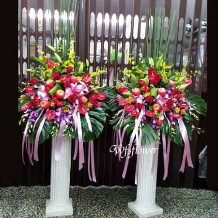 BL019羅馬花柱藝術花柱台南市花店