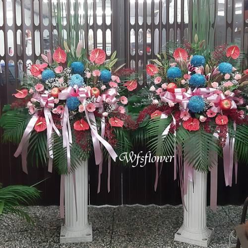 BL053羅馬花柱藝術花柱台南市花店