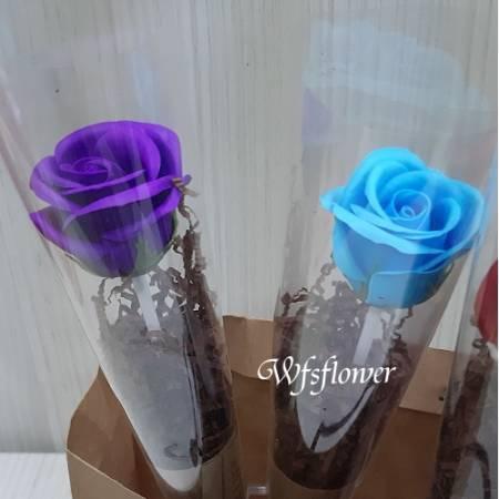 K001單支香皂花束生日花束團體贈品