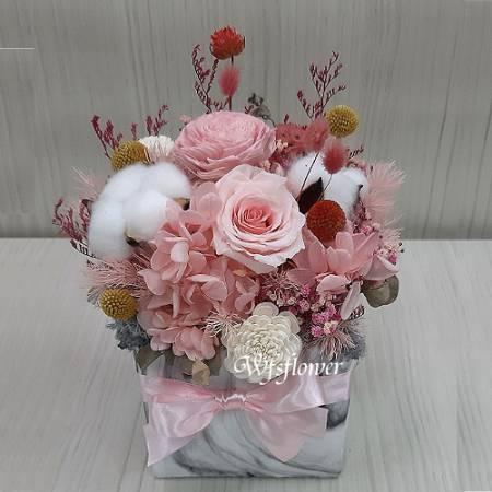 J061乾燥花小品辦公室小飾品台南市花店
