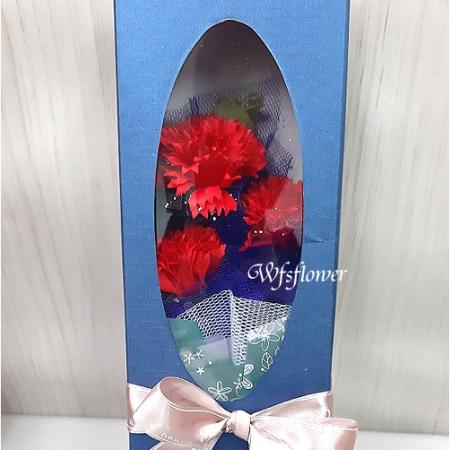 Q048溫馨母親節母親節香皂花禮盒台南花店