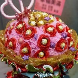 我們結婚好嗎浪漫金莎花束台南市花店