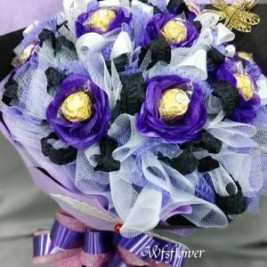 C033金莎之愛金莎花束