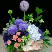 D038花之饗宴精緻桌花開幕落成賀禮賀婚禮台南市花店