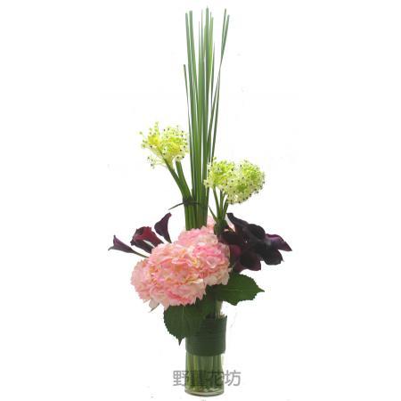 I024設計盆花(包含花器)