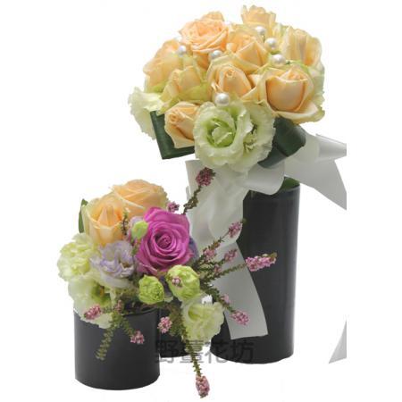 I026設計盆花(包含花器)