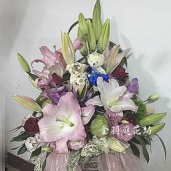 E061祝賀藝術盆花開幕喬遷榮陞結婚會場佈置