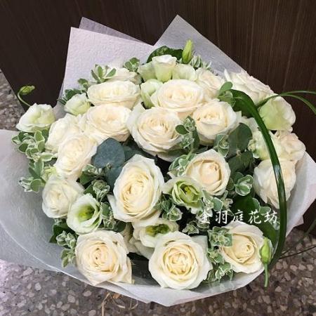 A043銘記於心玫瑰花束情人節花束生日