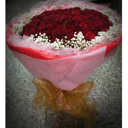 [A051]200朵紅玫瑰花束