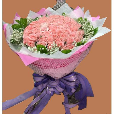 A05299朵粉玫瑰
