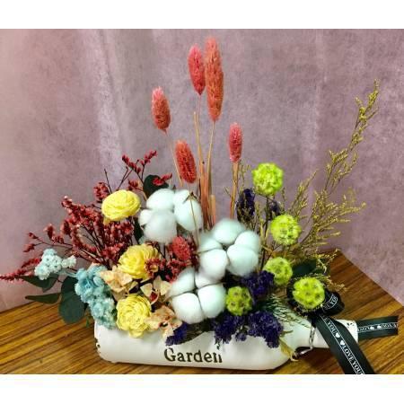 I025乾燥盆花