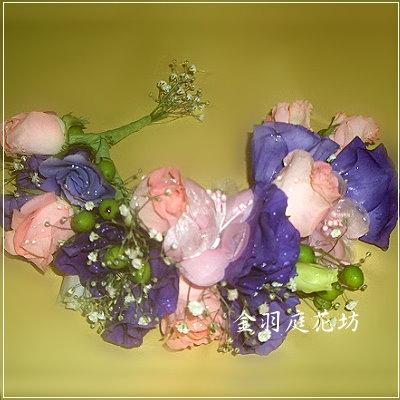 G014]新娘頭花(一組)