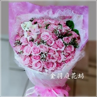 A036玫瑰花束情人節生日特殊節慶大型花束