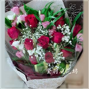 A037玫瑰花束情人節生日特殊節慶