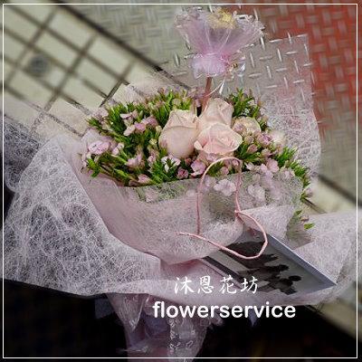 台北花店士林花店沐恩花藝情人節花束玫瑰花束生日花束