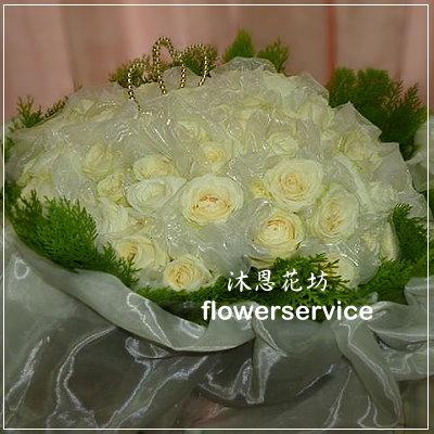 K001台北花店士林花店沐恩花藝情人節花束大型玫瑰花束求婚花束
