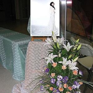 婚禮會場佈置-相框佈置