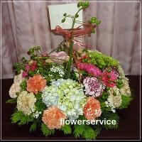 台北花店沐恩花藝祝賀盆花喜慶盆花母親節盆花