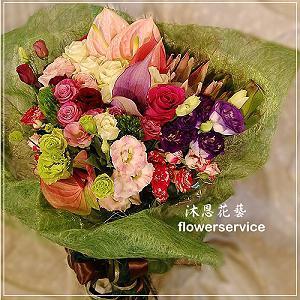 K072綜合花束情人節花束生日特殊節日花束
