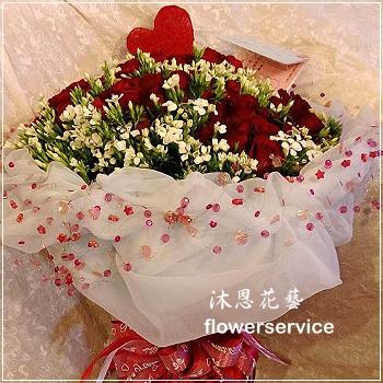 K075玫瑰花束情人節花束求婚花束