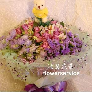 K079綜合花束傳情花束生日花束