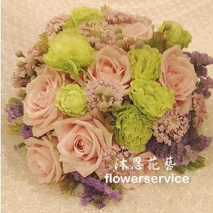 B014新娘捧花浪漫捧花