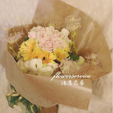 K082綜合花束傳情花束生日花束