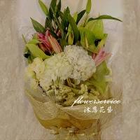 K083繡球花束傳情花束生日花束