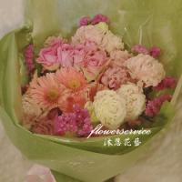 K084傳情花束母親節花束士林沐恩花藝