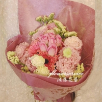 K085傳情花束母親節花束士林沐恩花藝