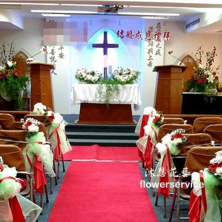 A018婚禮會場佈置