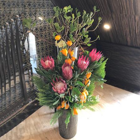 M059祝賀盆花喜慶盆花開幕喬遷盆花
